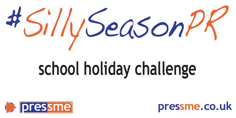 SillySeasonPR school holiday challenge | pressme