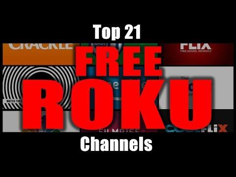 (186) Best Free Roku Channels 21 Channels You Can Add