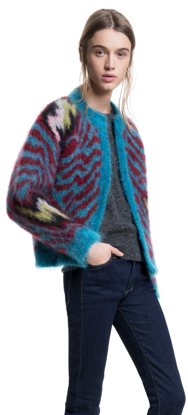 BIMBA Y LOLA Mohair cardigan   Cosy woolies   Pinterest