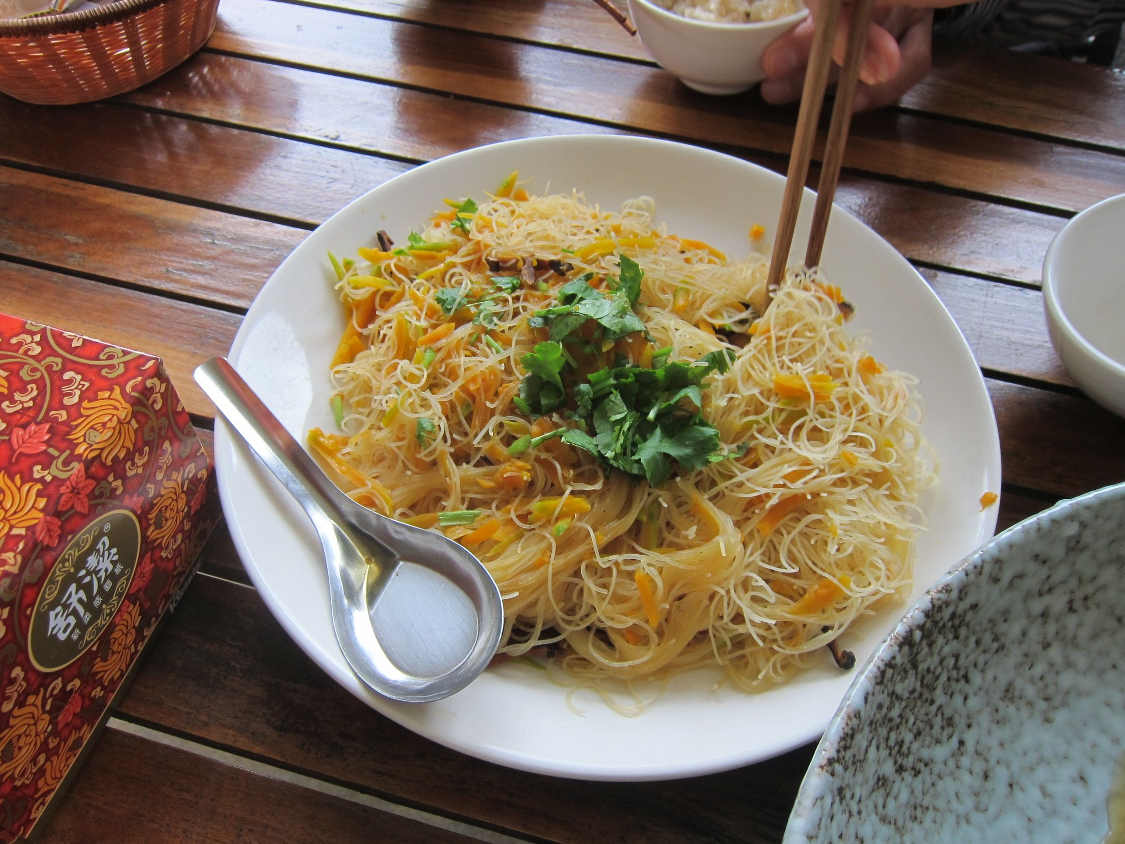 Fried rice noodles with pumpkin | Taiwan and Food | Pinterest