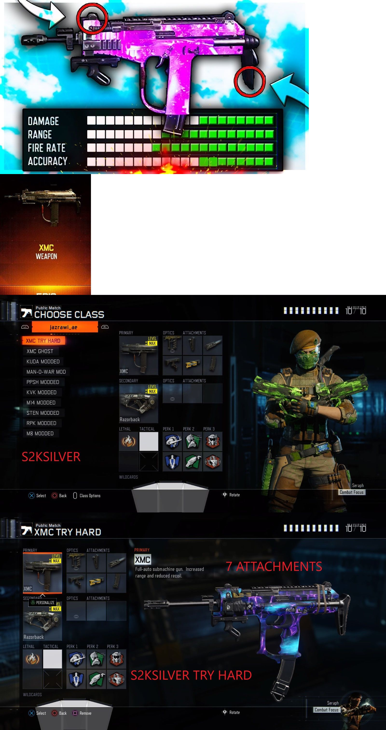 Strategy Guides and Cheats 156595: Black Ops 3 Modded Account With