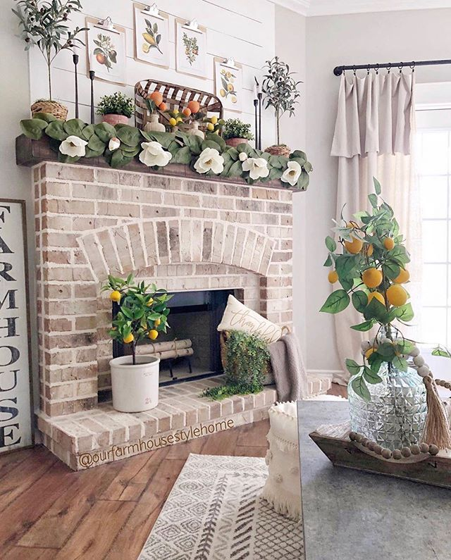 "Farmhouse Home Décor on Instagram: ""I think the decor I'll miss the most once summer is over is all the citrus! Seriously the 🍋 and 🍊 have been the best spring/summer decor…"""