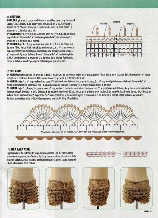 4 (508x700, 147Kb) | ropa tejida | Pinterest | Falda, Tejido y Ropa