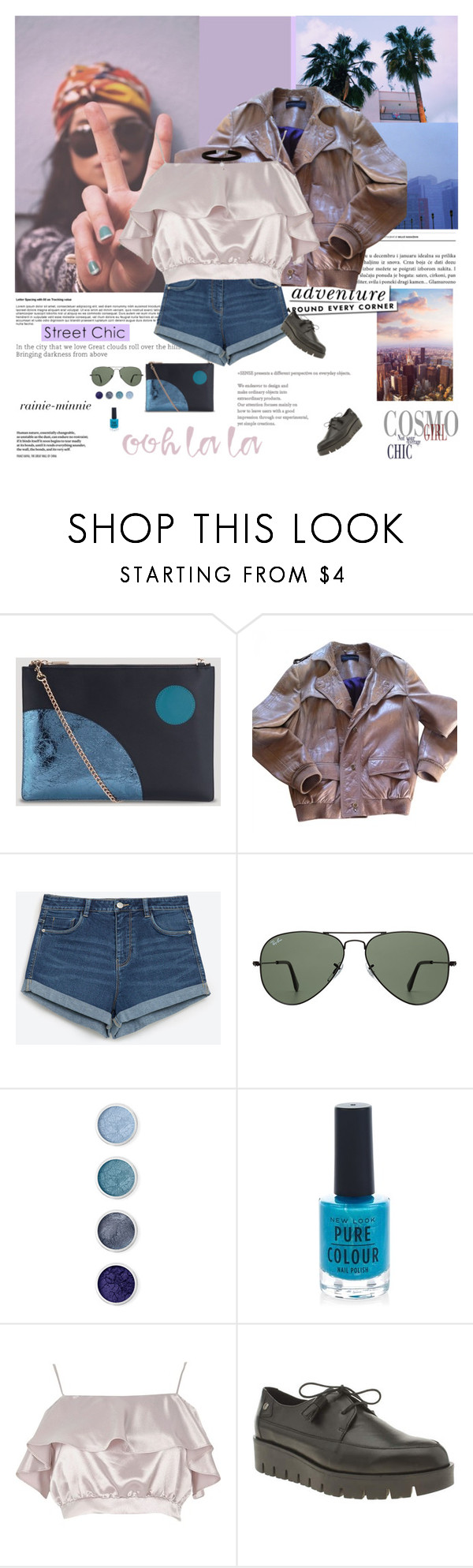 """""""Street Chic"""" by rainie-minnie ❤ liked on Polyvore featuring Whistles, Kate Spade, Zadig & Voltaire, Zara, Ray-Ban, Terre Mère, New Look, River Island and Red Or Dead"""