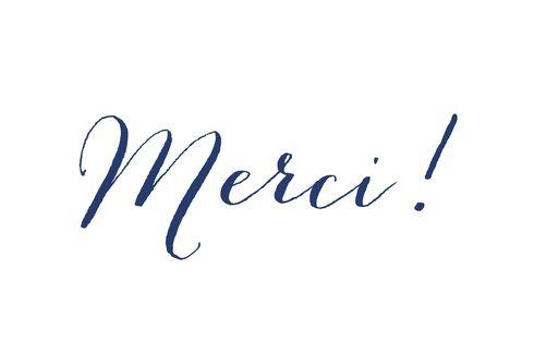 Carte de remerciement Merci son prénom photo by Tomoë pour www.FairepartNaissance.fr