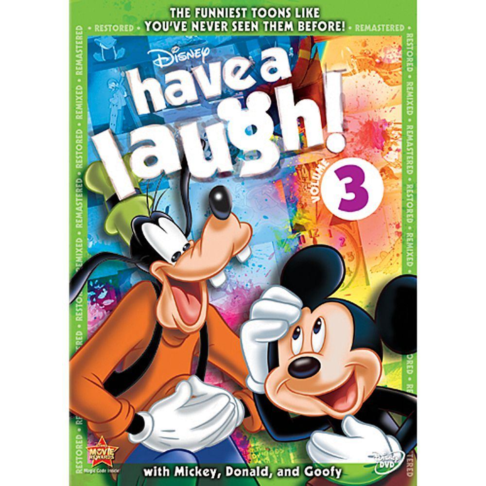 Disney Have A Laugh! Volume 3 DVD Goofy disney, Disney