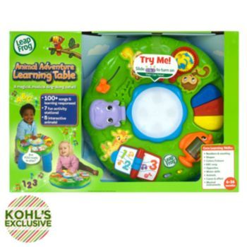 Leapfrog Animal Adventure Learning Table Leap Frog Activities