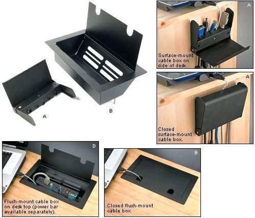Cord Management Ideas Wire Regarding Desk Cable Organizer Designs 14 Diy Desk Desk Cable Management