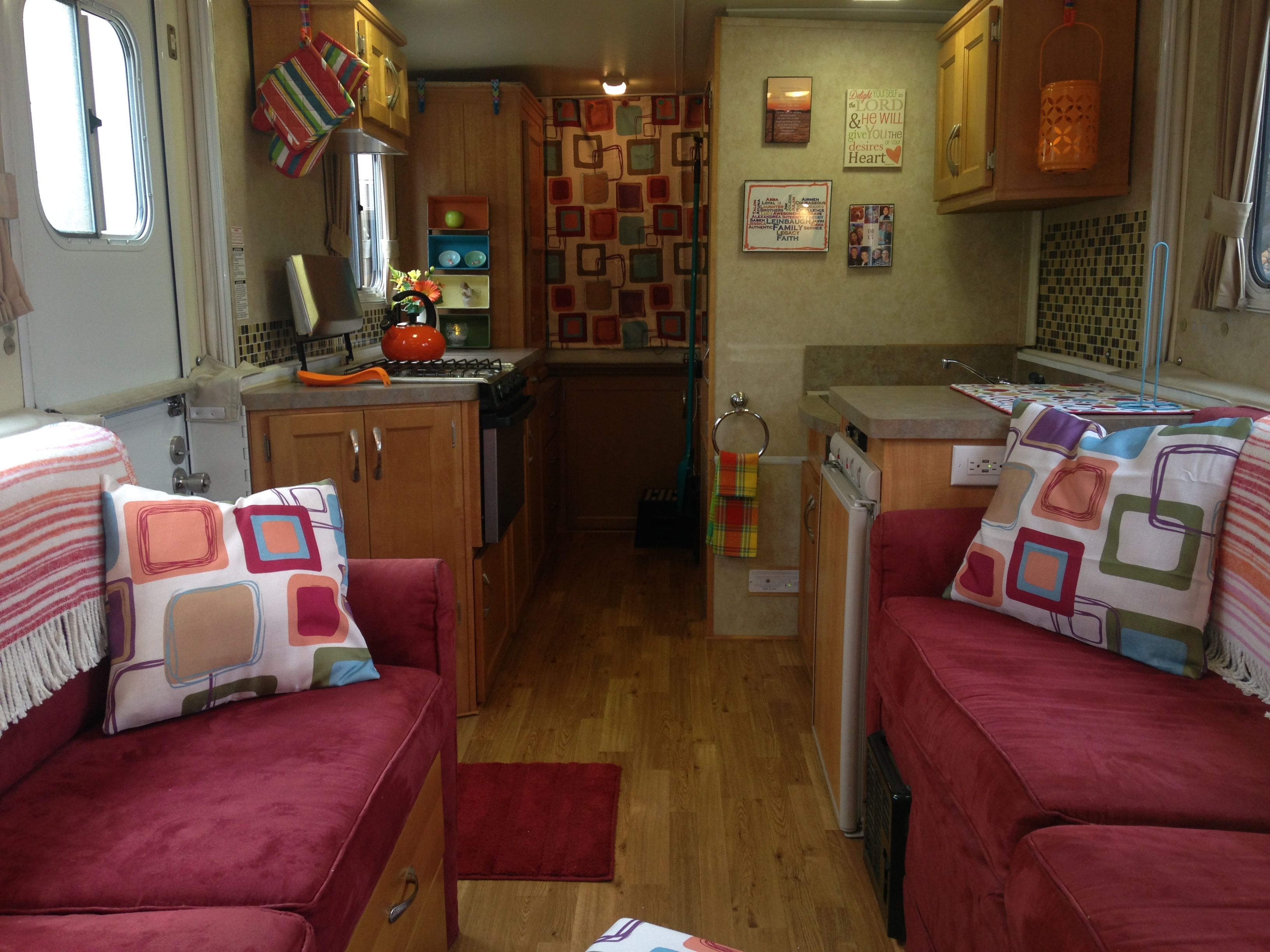 Updated interior on a Trail Manor HiLo Camper Pinterest Rv