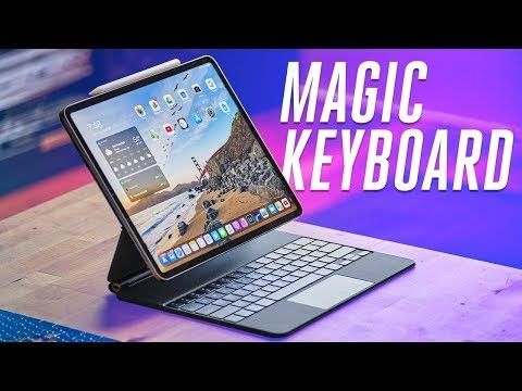 Magic Keyboard for iPad Pro review 2020 - Floating iPad Pro?