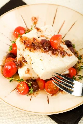 Cod with Tomato and Thyme To get this beautiful recipe sign up as a Feed the Tribe Member at www.feedthetribe.com!