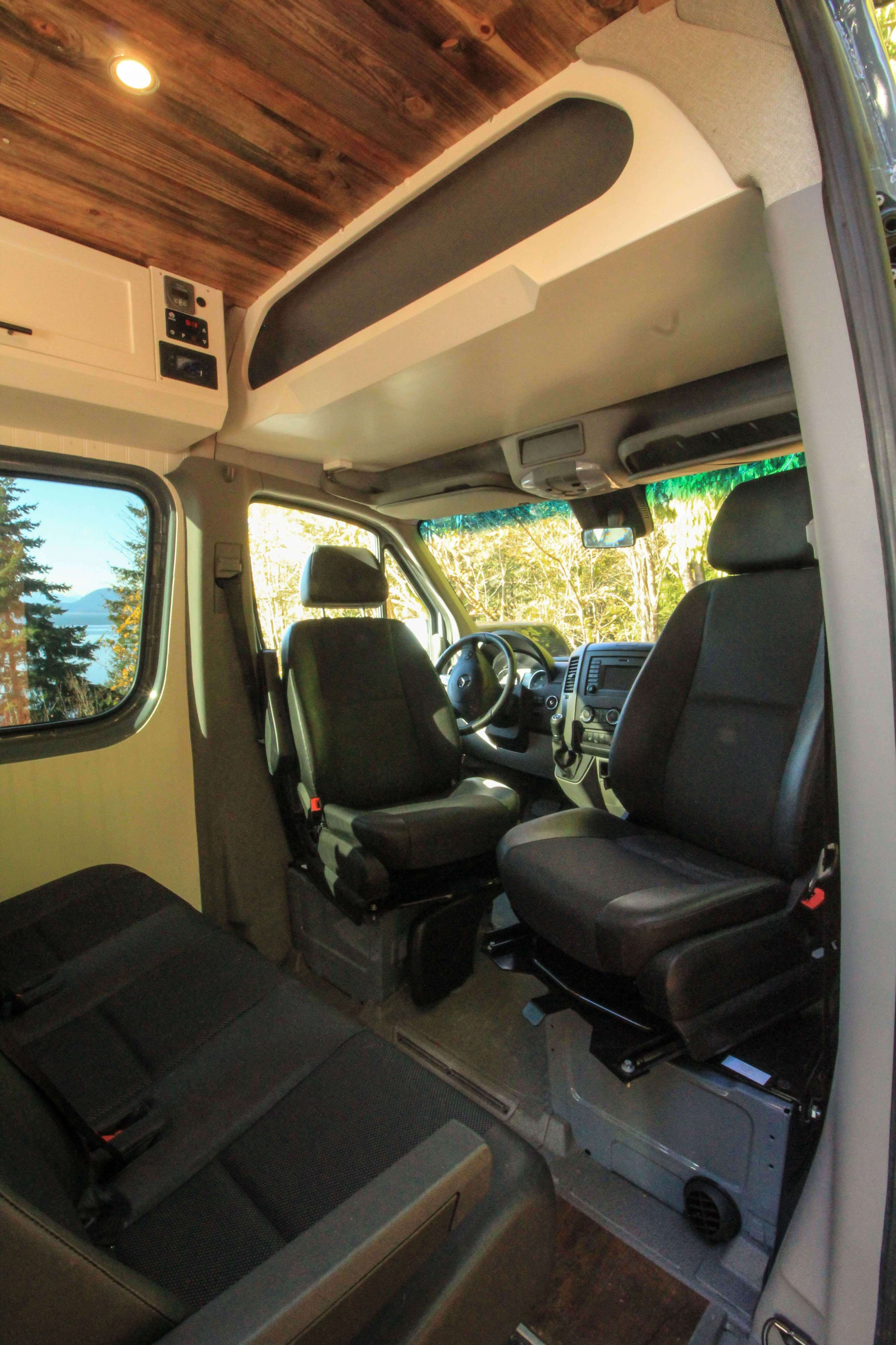 The Family Van Conversion Freedom Vans Camper Van Conversion Diy Ford Transit Camper Van Conversion Interior