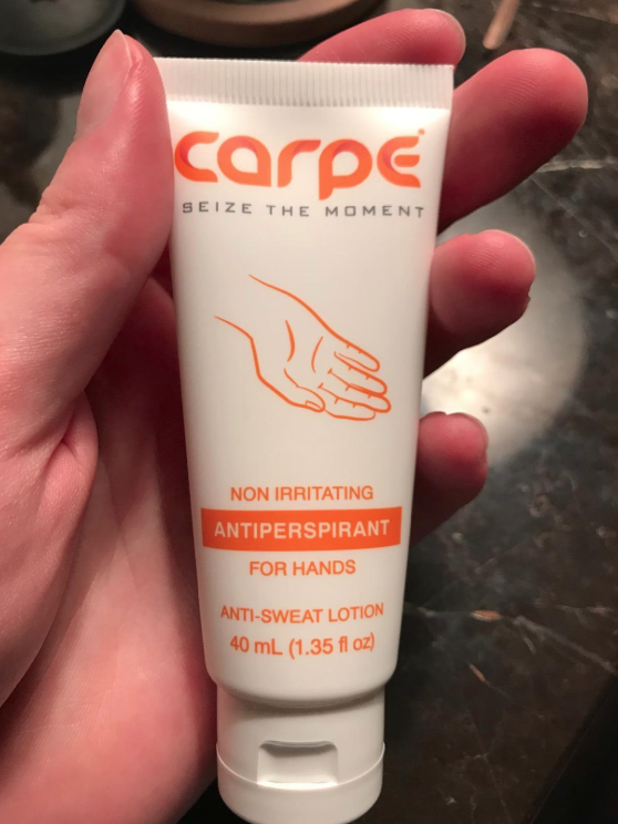 An Antiperspirant Designed Just For Your Hands To Give You Some Relief From Sweaty Palms And The Frustration Antiperspirant Hand Lotion Aluminum Free Deodorant