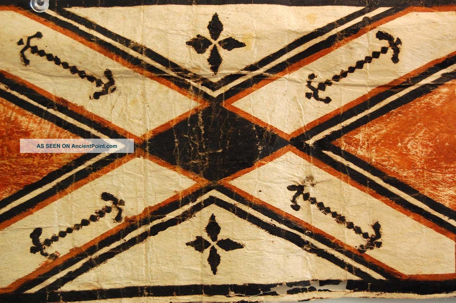 Oceanic Art Tapa Cloth Hawaiian Kapa Cloth Polynesian Bark Strip ...