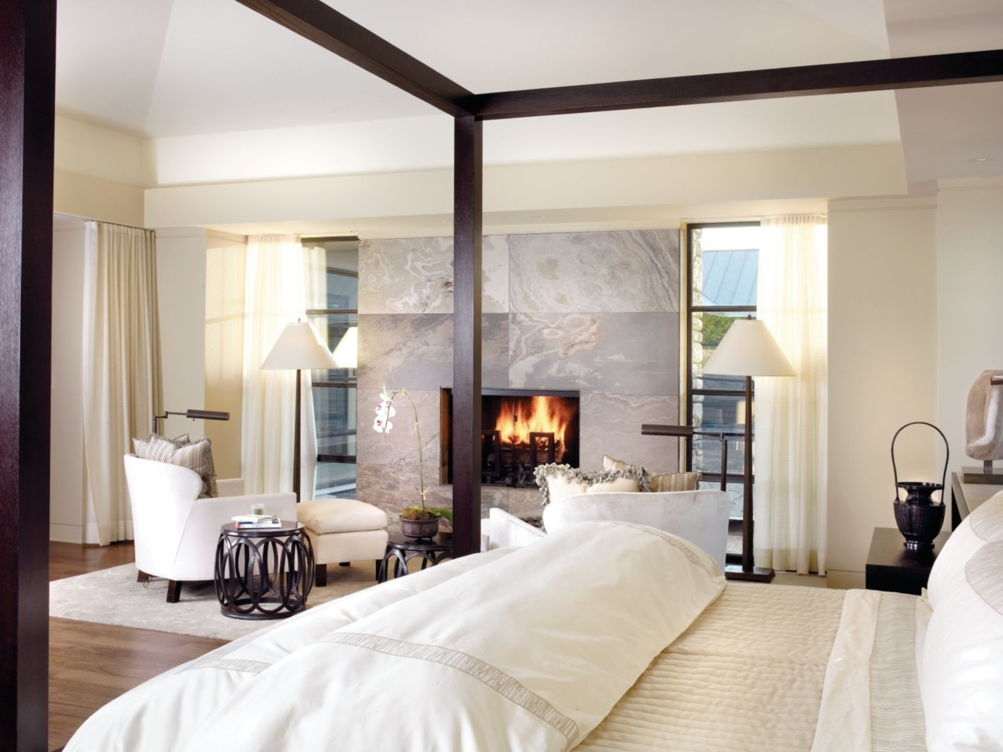 12 Cozy  Warm Bedroom Fireplaces  Luxedaily  Design Insight Amazing Bedroom Fireplace Design Ideas Review