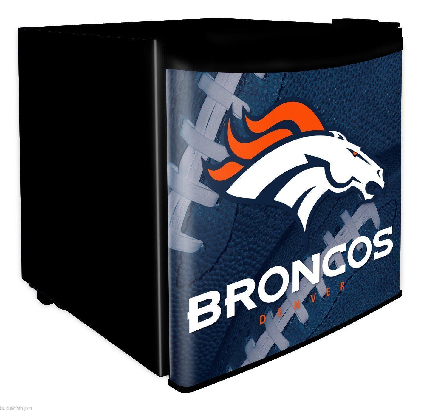 Denver Broncos Mini Refrigerator Denver Broncos Mini