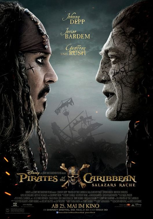 b7972e91eb7 Pirates of the Caribbean  Dead Men Tell No Tales Movie Poster ( 5 of 5) - IMP  Awards