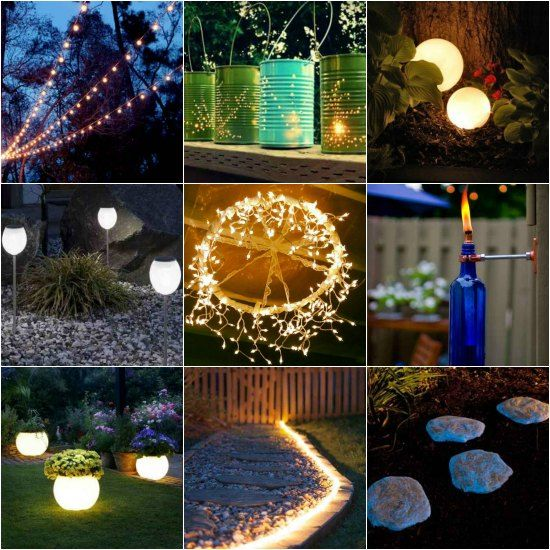 Exceptional Is Your Backyard A Place That Lacks Sufficient Light? The Best Way To Fix  This Is To Add Some Fun DIY Garden Lighting Projects To Illuminate Your  Homestead. Good Looking