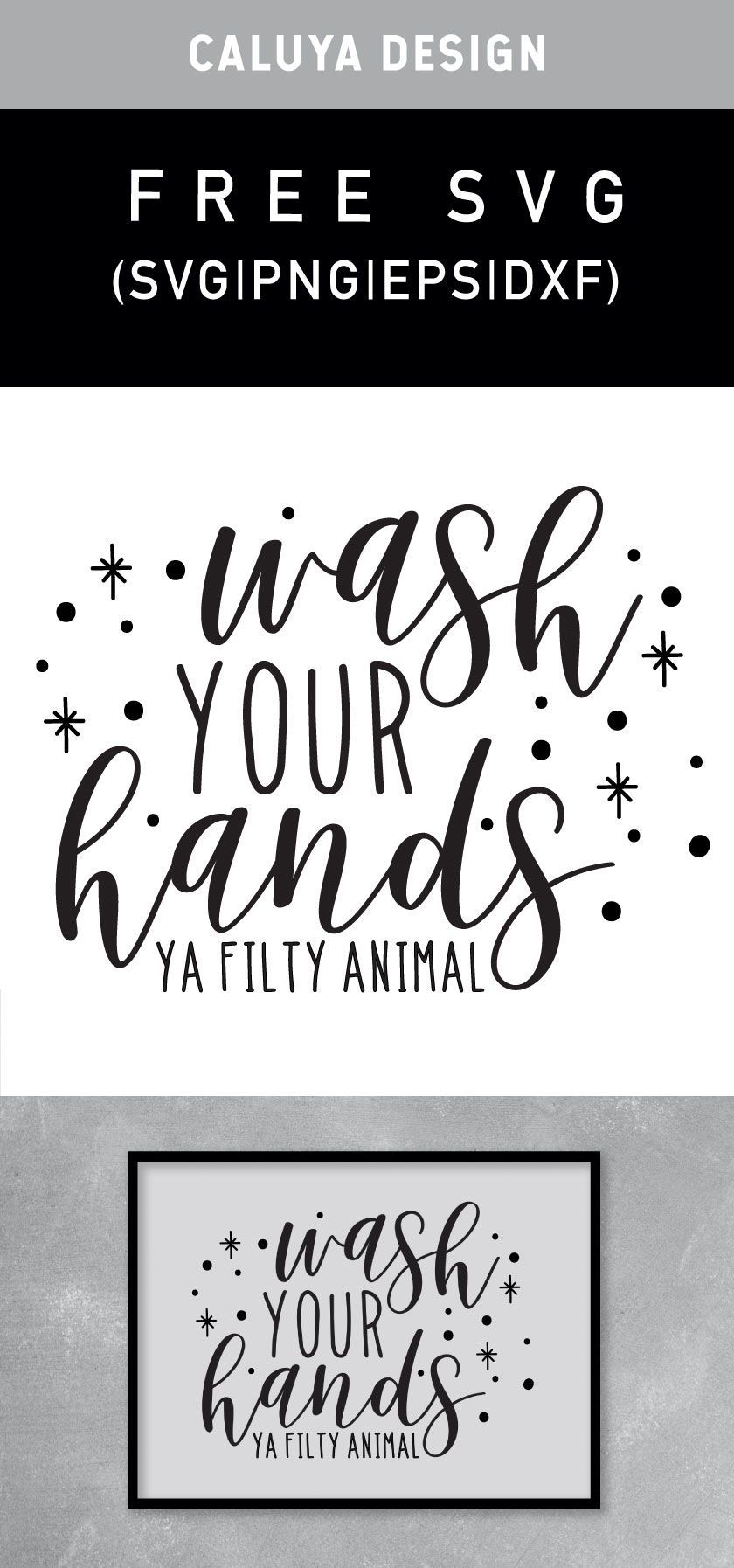 Free Wash Your Hands Svg Png Eps Dxf By Caluya Design In 2020 Cricut Projects Vinyl Cricut Vinyl How To Make Planner