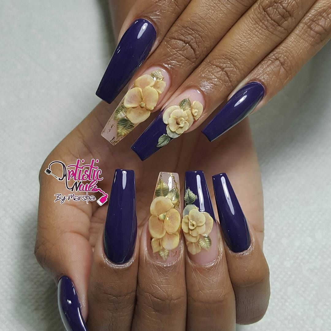 Golden rosesnotd nails fallfashion nailsonpoint