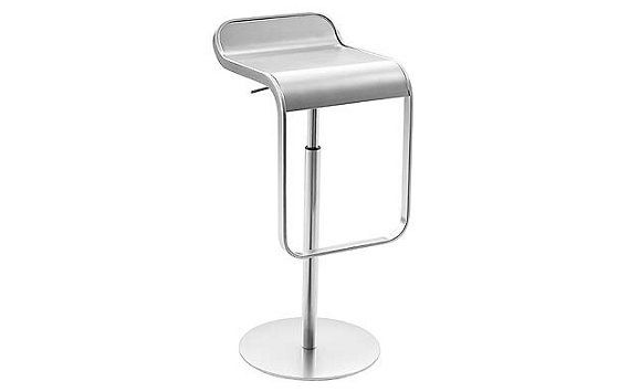 Lem Piston Stool Stainless Steel