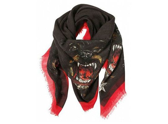 Givenchy Rottweiler Accessories/scarf