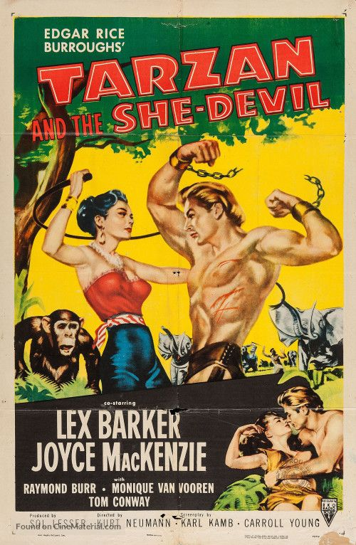 Download Tarzan and the She-Devil Full-Movie Free