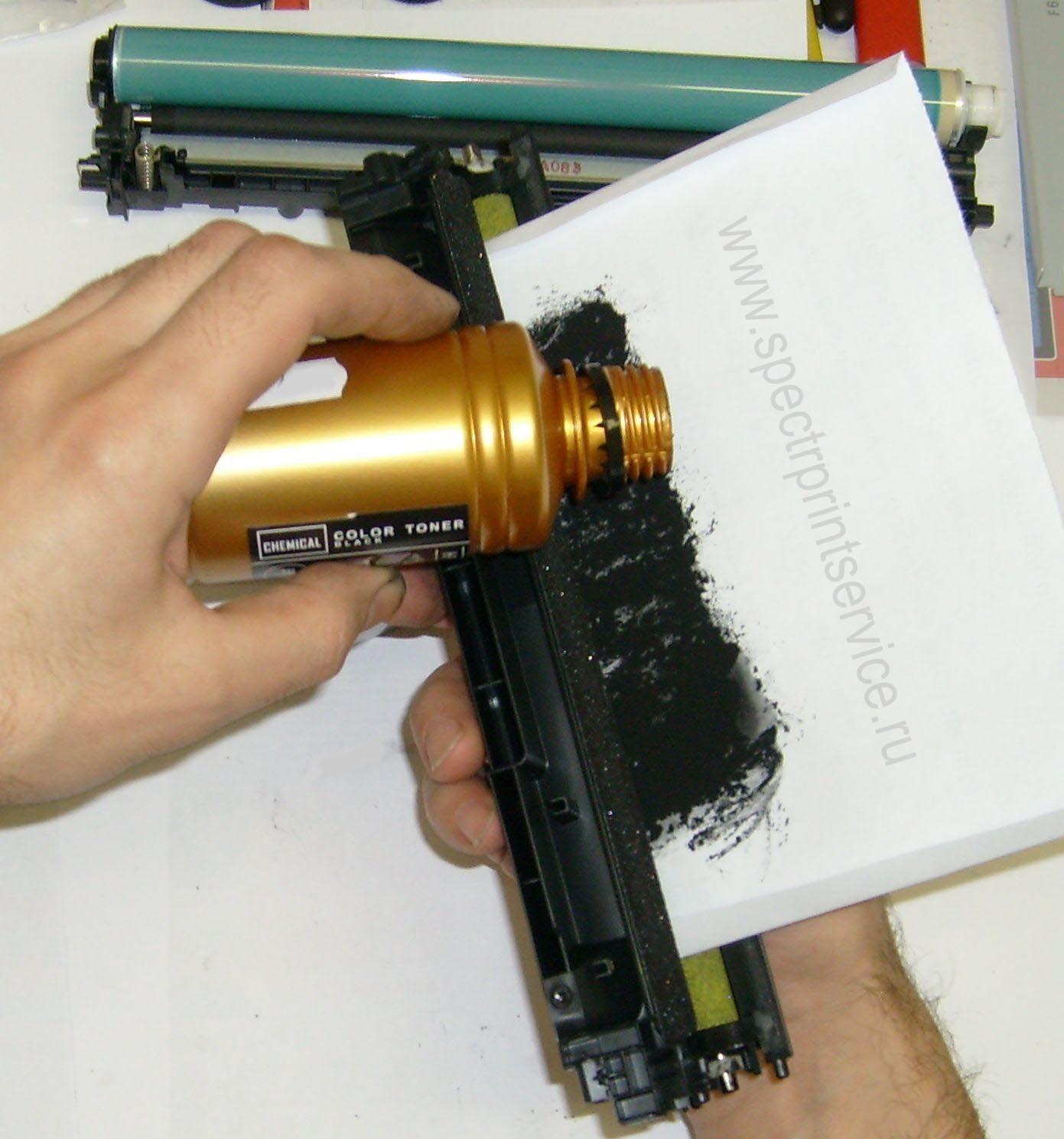 Инструкция заправки лазерного принтера