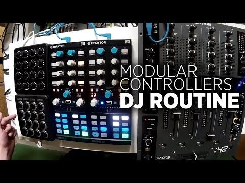Mixing With Traktor On A Modular Controller Setup Of X1s + Midi Fighters - DJ TechTools
