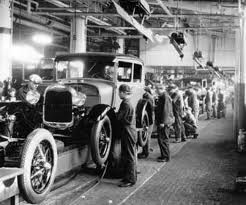 The First Assembly Lines Appeared In A Ford Factory Back In 1913