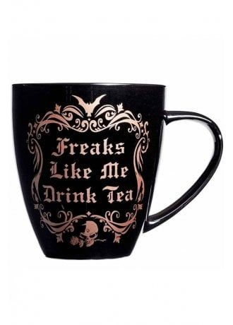 Alchemy Gothic Freaks Like Me Drink Tea Mug #teamugs