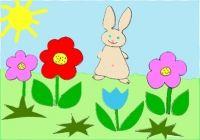Collage du lapin