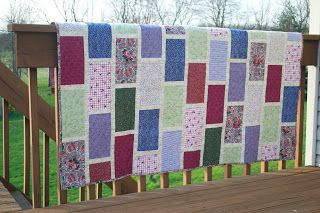 Sew in Peace: Colorbrick Quilt