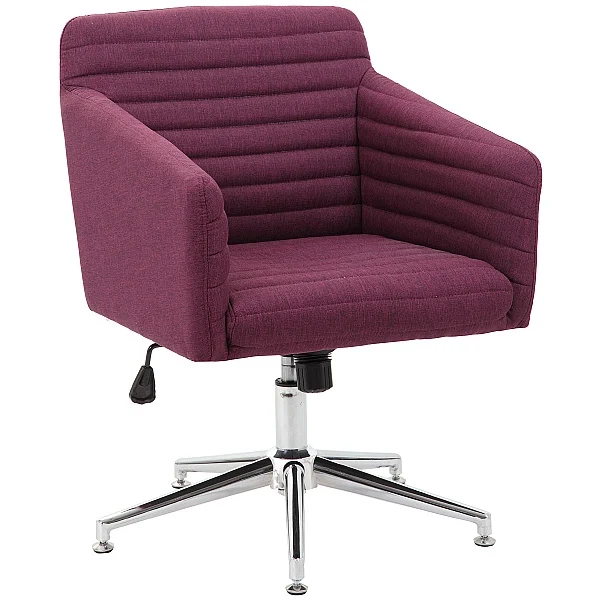 Harris Fabric Swivel Chair Supplied With Castors And Glides Reception Chairs In 2020 Home Office Chairs Swivel Chair Chair