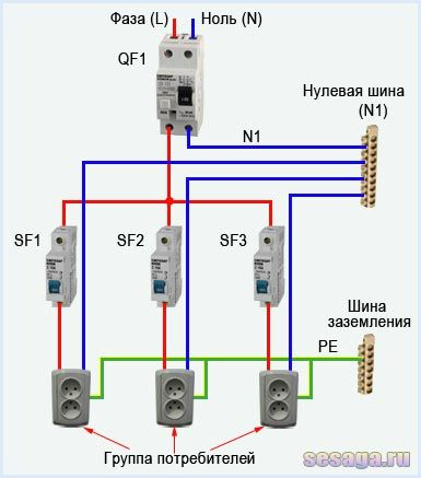 Выбор и схемы подключения узо в однофазной сети | заметки электрика.