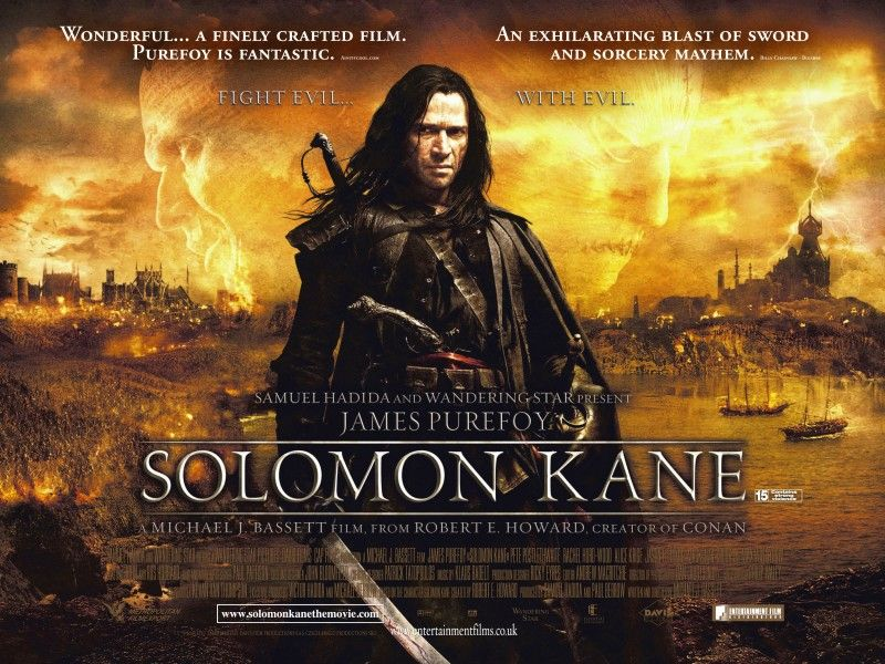 Finally A New Trailer For 2009 S Solomon Kane Solomon Kane Best Action Movies Action Movies