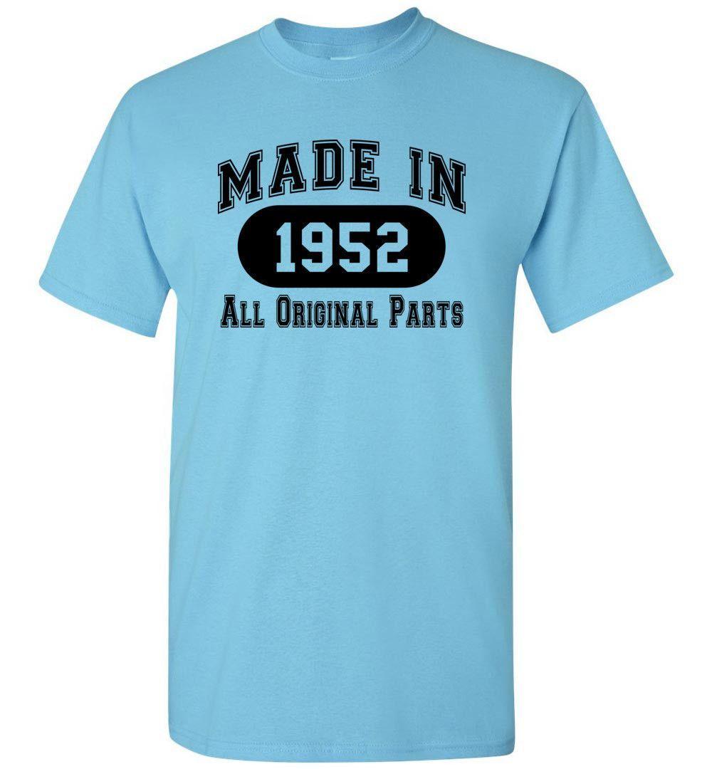 65th Birthday Gift Made 1952 All Original Parts T-Shirt