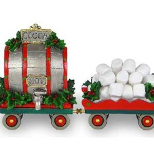 Willy's Wonderland Express Train Hot Cocoa Set, M-453c, M-453d | Wee Forest Folk Shop