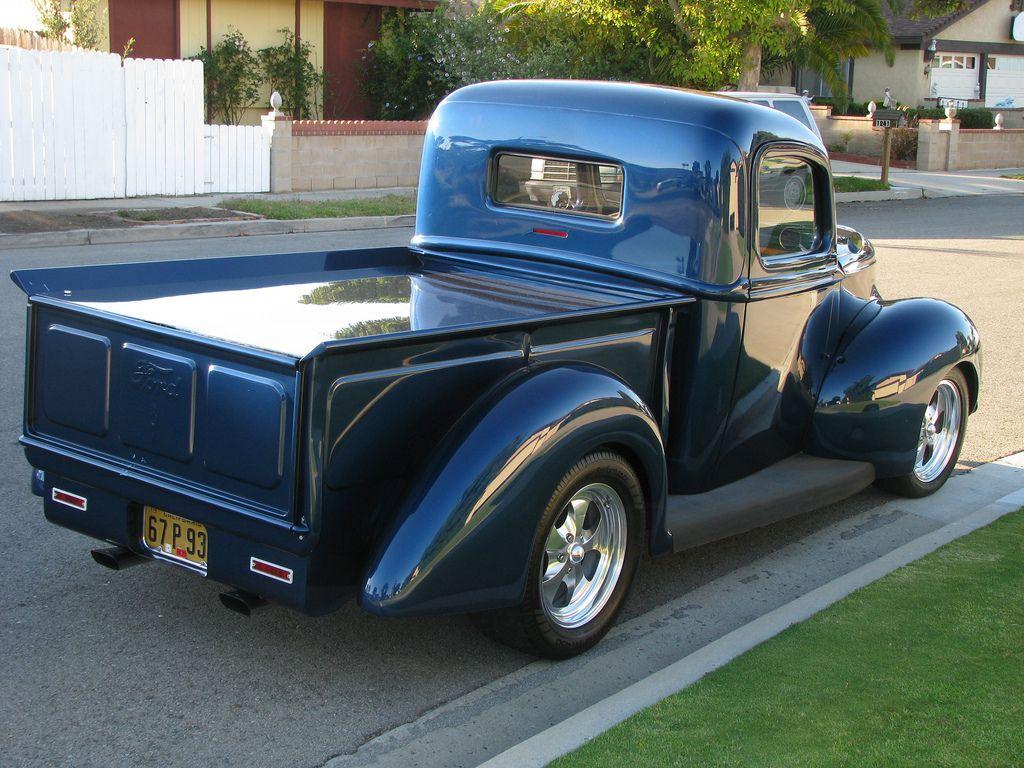 An American Classic 1940 Ford Pickup Truck In Oxnard California Ford Pickup Trucks Ford Pickup Pickup Trucks