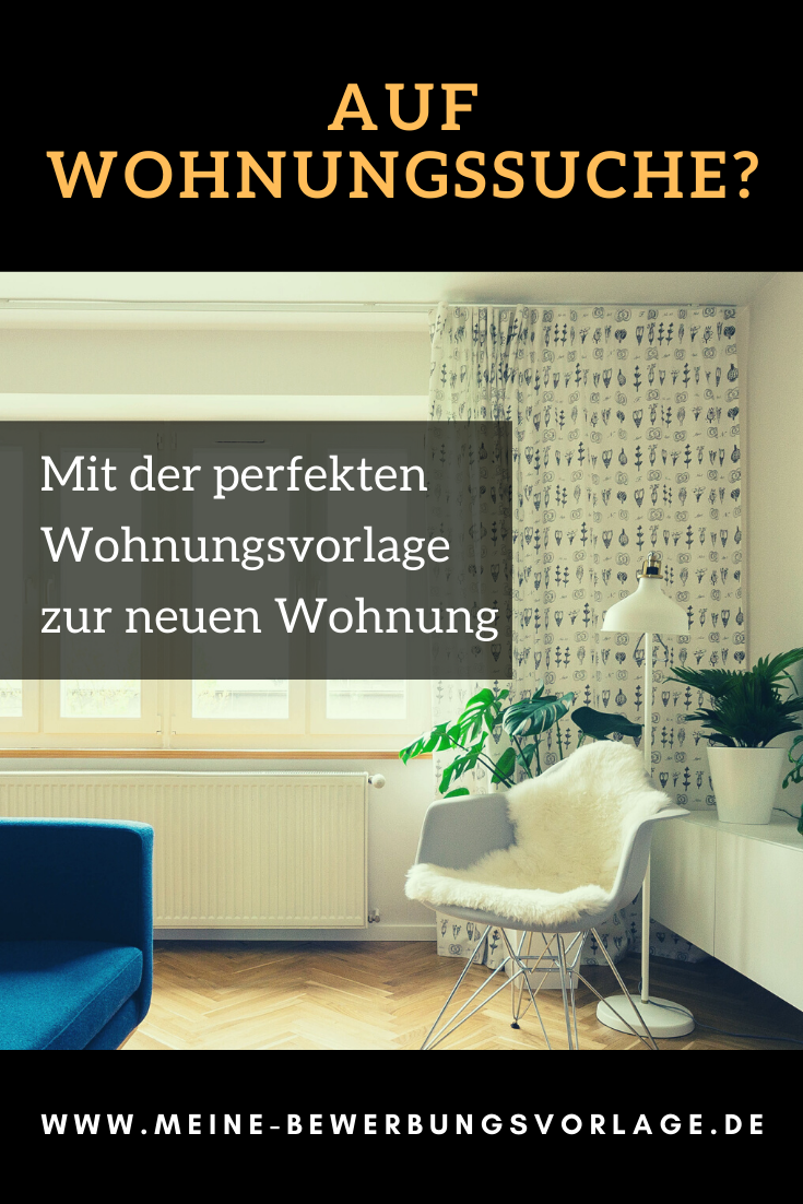 Wohnungsbewerbung Wohnung Finden Wohnungssuche Wohnung
