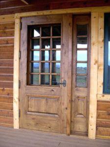 Log Cabin Front Door Handles   http://civildisobedience.us ...