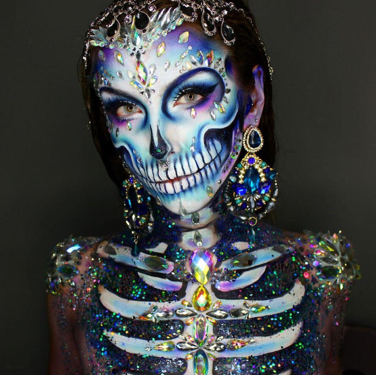 Pinterest SoRose95 Amazing halloween makeup, Halloween