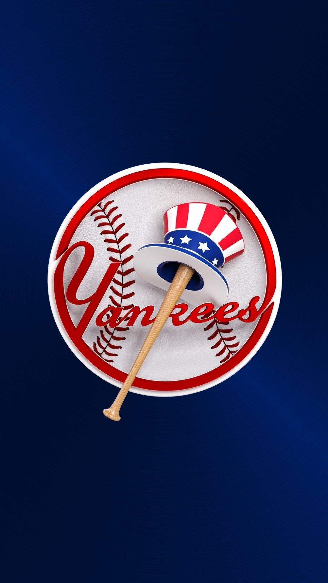 Mlb Baseball Wallpaper Mobile In 2020 New York Yankees New York Yankees Logo Baseball Wallpaper