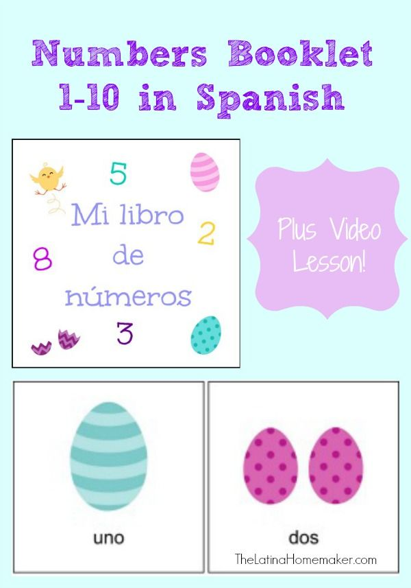 picture about Spanish for Preschoolers Free Printable called Absolutely free Printable Booklet for Finding out Figures within Spanish +