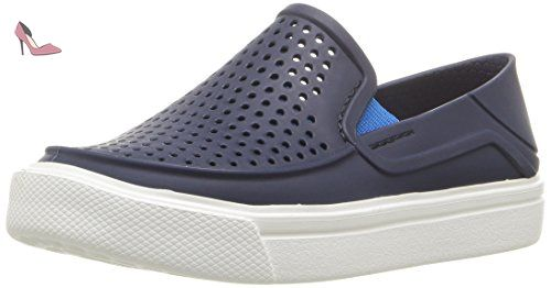 Norlin Slip-on Men, Homme Sneakers, Gris (Charcoal/White), 41-42 EUCrocs