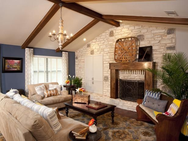 Traditional Living-rooms from Drew and Jonathan Scott on HGTV