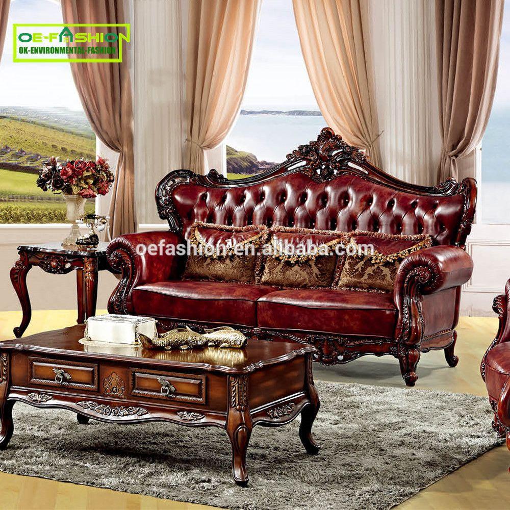 Oefashion Living Room Furniture Sofa Italy Leather Sofa Custom