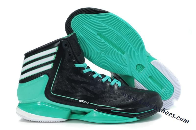 D Rose 2012 Adidas Crazy Light 2 Black Hyper Green White