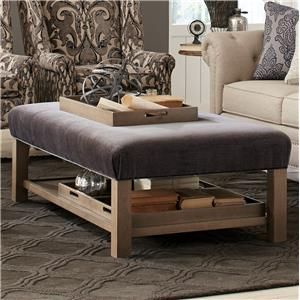 Superb Hickorycraft Accent Ottomans Storage Bench Ottoman With Tray Cjindustries Chair Design For Home Cjindustriesco