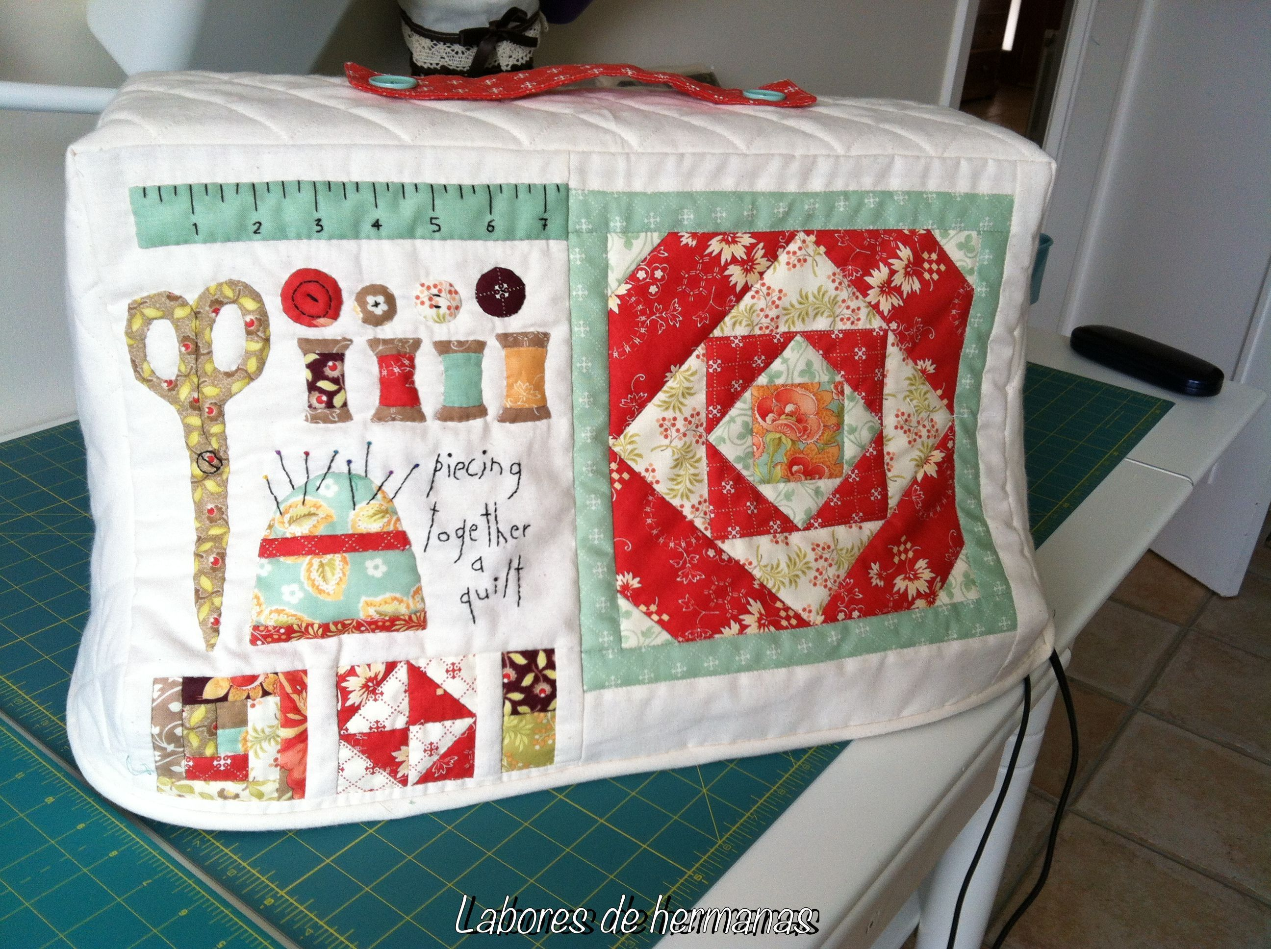 fundas maquinas de coser patchwork - Google Search (With
